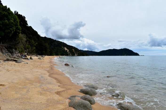 waiharakeke bay Abel Tasman NP New Zealand