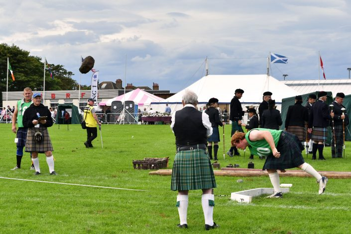 highland games north berwick