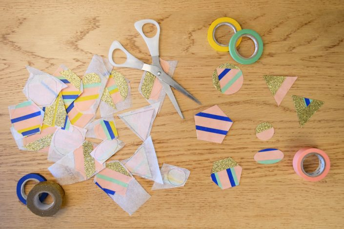 stickers en washi tape DIY