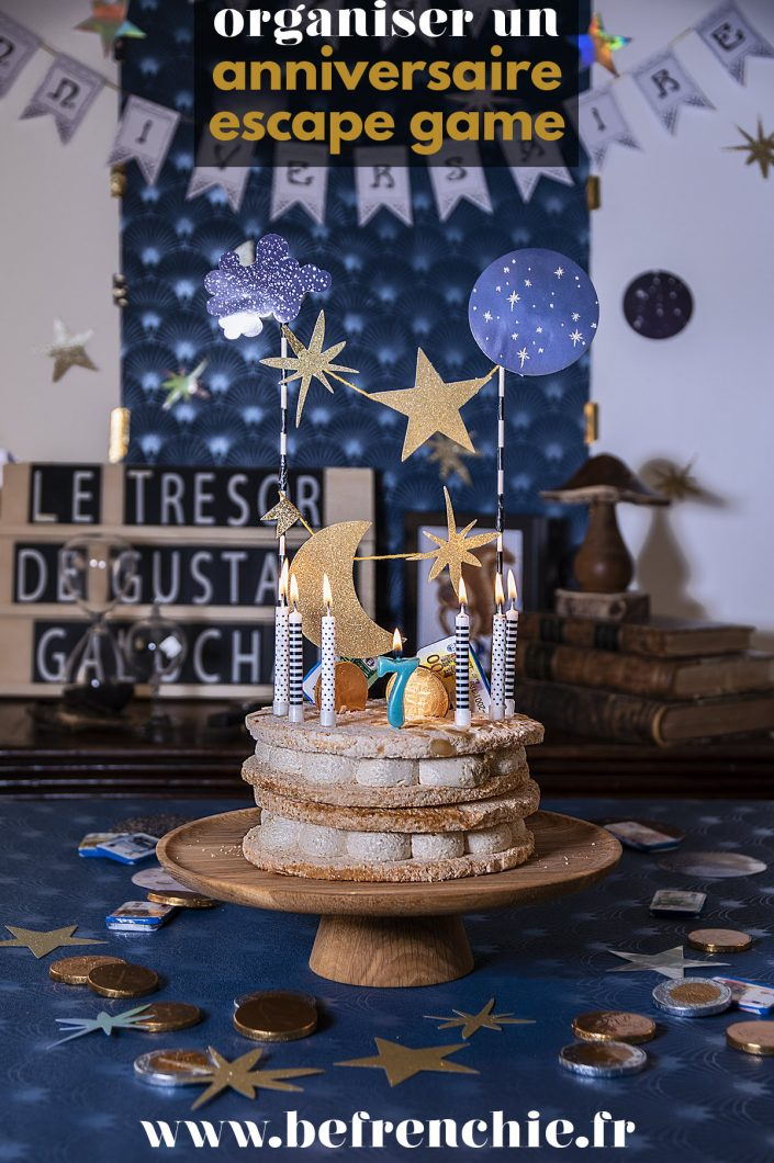 anniversaire escape game