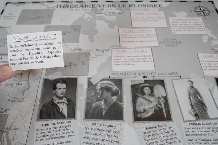 escape game sur le klondike